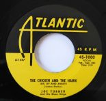 "45Re ✦ JOE TURNER ✦ ""The Chicken And The Hawk"" Jump R&B Twin Spinner. Hear ♫"